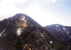 鶏冠山(1716m)